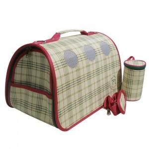 미라클 돔형 체크무늬 통풍형 이동가방 녹색가격:50,000원