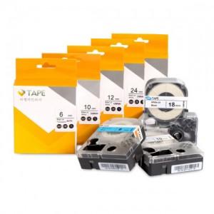 라벨테이프 24mm (투명/글씨색)가격:21,000원