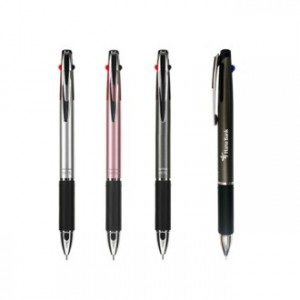 MH 금속 3색 볼펜