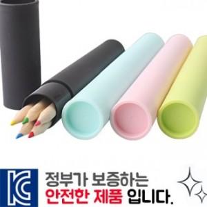 내츄럴색연필 5P [원통세트]
