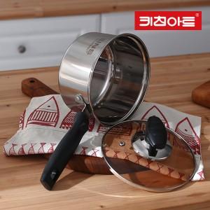 키친아트 EINS 쿡 스텐 편수냄비 18cm