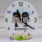 데코 우드 탁상 시계