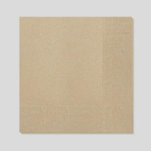 네프킨-디너냅킨(갈색지)-2겹 일반형