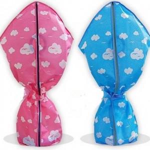 국산 선풍기커버 옷걸이 겸용 구름무늬