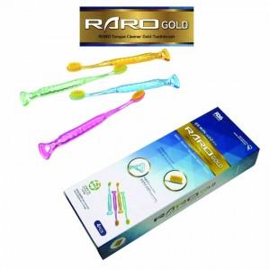 FDA인증 라로골드 혀클리너 골드치솔 효도상품 4P세트