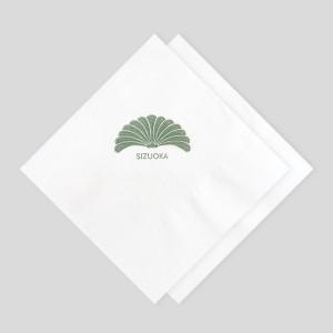 로고인쇄 네프킨-칵테일냅킨(백색지)-1겹 일반