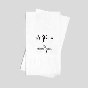 로고인쇄 네프킨-디너냅킨(백색지)-2겹 접이형