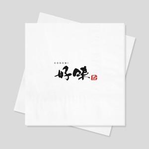 로고인쇄 네프킨-디너냅킨(백색지)-4겹 고급형