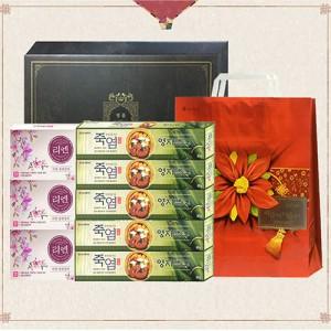 LG생활건강 리엔 비누+ 죽염치약 명절 선물세트