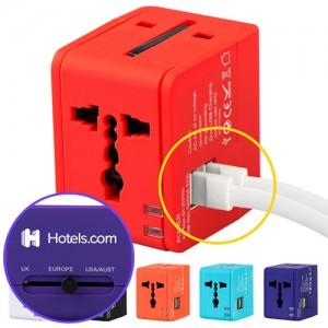 멀티플러그 큐브 USB 듀얼포트