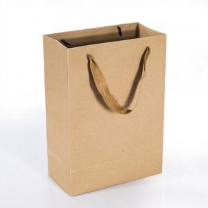 크라프트 기본단색 종이 쇼핑백 종이가방 (소)