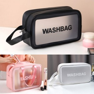워시백 방수 세면 파우치 화장품케이스 여행용 목욕가방
