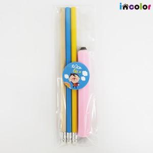 incolor 문구세트 - OPP_8(연필,지우개)