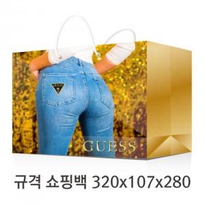 규격 칼라 코팅 쇼핑백 115호