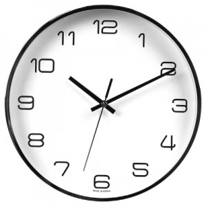 260금속크롬벽시계