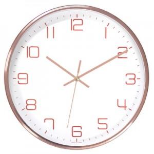로즈골드알미늄벽시계