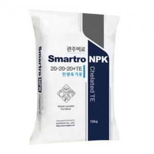 Smartro NPK 20-20-20 10kgX[5포 묶음] - 전생육기용 수용성 복합비료가격:160,000원