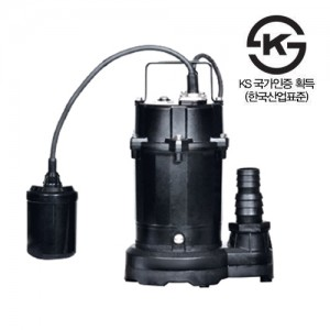 (한일펌프) 청수용 수중펌프 IP-217-F가격:135,000원