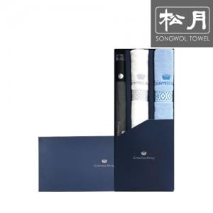 [송월 우산선물세트]카운테스마라 2단 도트보더 1p + 맥스2p