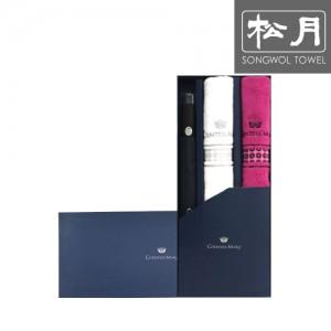 [송월 우산선물세트]카운테스마라 2단 도트보더 1p + 써클2p