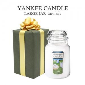 양키캔들 라지자 선물세트(고급선물포장 쇼핑백포함)( YANKEE CANDLE Large Jar))