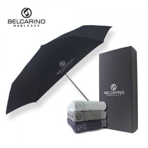 벨카리노 3단 슬림 우산 + 170g 타올 세트