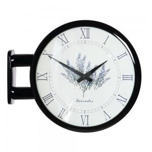 Morden Double Clock Lavender(Black)