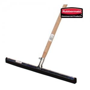 러버메이드 바닥스퀴지(55cm)+나무봉 세트