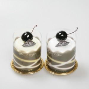 케익타올 라인무스스타일-초코컬러