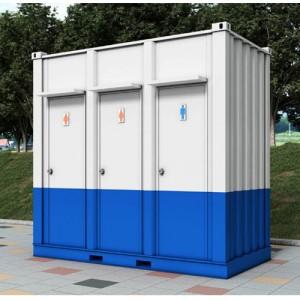 박스형 화장실(이동식) KCT03 (3조)