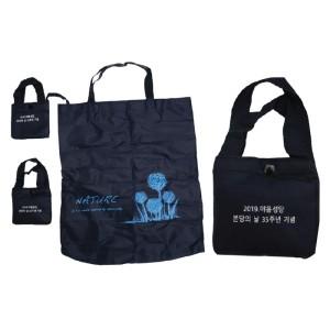 친환경 장바구니 휴대용 시장가방 에코백 마트