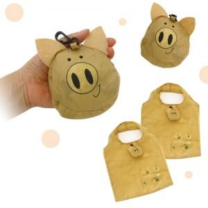 황금돼지 마트 가방 에코백