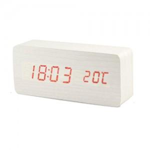 LED시계-직사각(화이트)