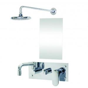 PW6820AR 매립 싱글레버 샤워 해바라기
