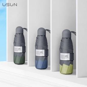 USUN & RAIN 자외선차단 99.9% 초경량 5단 수동 양우산