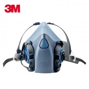 3M 반면형 마스크 7502 호흡보호구 방진마스크