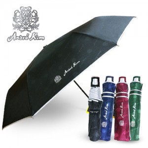 앙드레김 3단 AK 디롱 엠보실버 우산