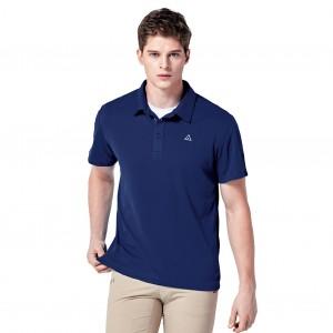 단색 AIRWALK 반팔 카라 티셔츠 (남/여)