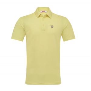 WILSON 컬러 반팔 카라 티셔츠