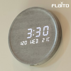 플라이토 문클락 인테리어 LED 벽시계 시즌2 23.7cm
