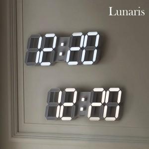 국산 루나리스 3D LED 벽시계 38cm