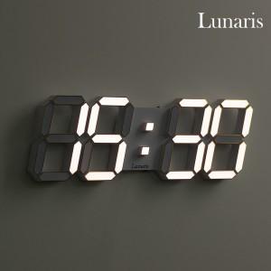 국산 루나리스 3D LED 벽시계 38cm 프라임
