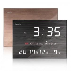 국산 루나리스 FM수신 LED 디지털 전자벽시계
