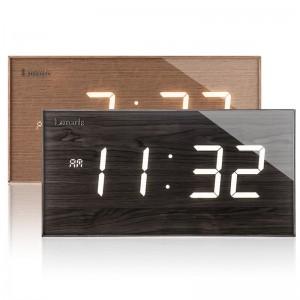 국산 루나리스 FM수신 클래식 LED 전자벽시계