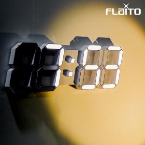 국산 플라이토 LED 벽시계 38cm 프리즘