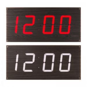 루나리스 FM수신 빅타임 LED 전자 대형벽시계 73cm