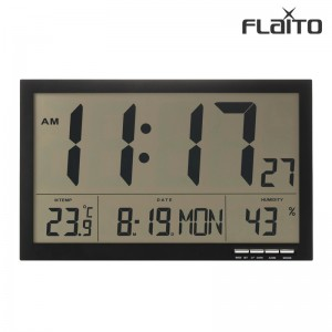 플라이토 F811 디지털 LCD 무소음 전자 탁상 벽시계 36cm[일시품절 7월말입고예정]가격:89,000원