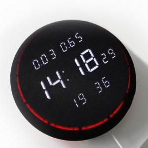 [오라클] 가정용 실내 초미세먼지 이산화탄소 측정기 벽걸이 LED시계