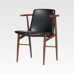 SC563 블랙PU 의자