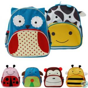 동물 캐릭터 아동백팩 가방